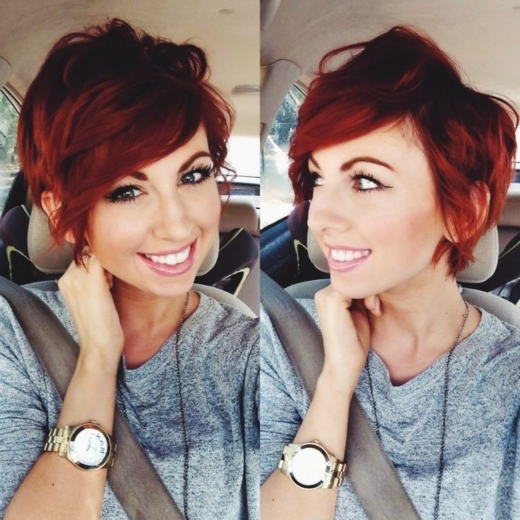 Red Hairstyles For Short Hair – Hair World Magazine Intended For Most Recent Long Red Pixie Haircuts (Gallery 7 of 15)