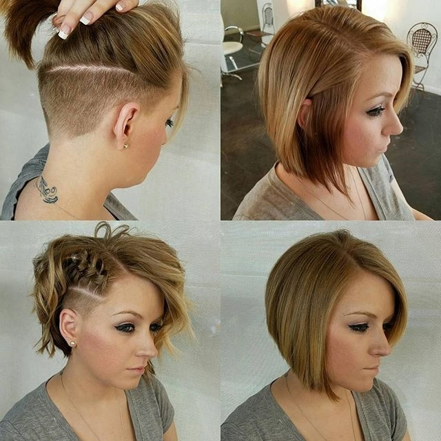 Repost @pretty Hct Gave @lovely Kiraa A New Look With A Undercut Within Best And Newest Pixie Bob Haircuts With Temple Undercut (View 12 of 15)