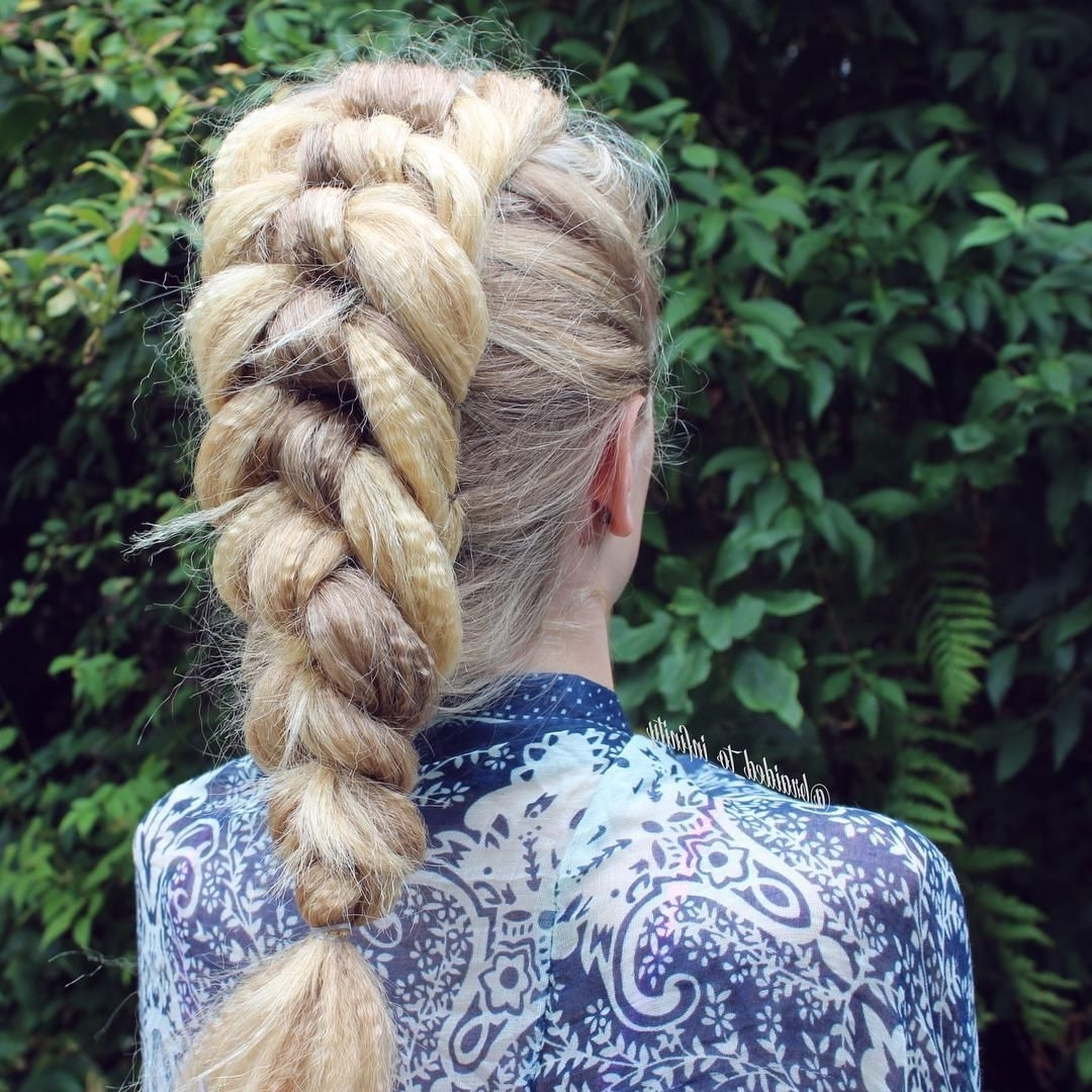 Ribbon Braids, Crimping And For Most Current Crimped Crown Braids (Gallery 11 of 15)