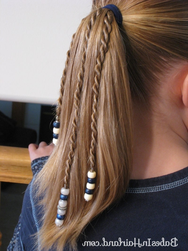 Rope Braids With Beads – Babes In Hairland Intended For Recent Cornrows Enclosed By Headband Braid Hairstyles (View 10 of 15)