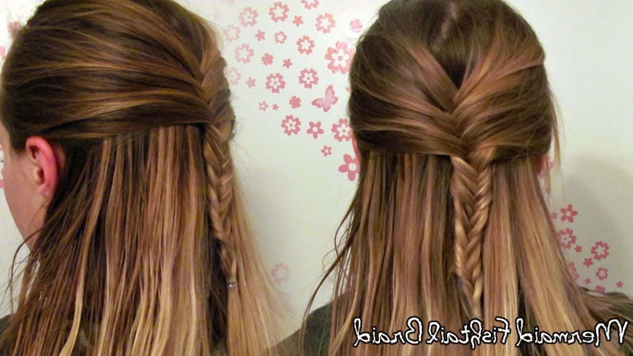 Featured Photo of French Braid Pull Back Hairstyles