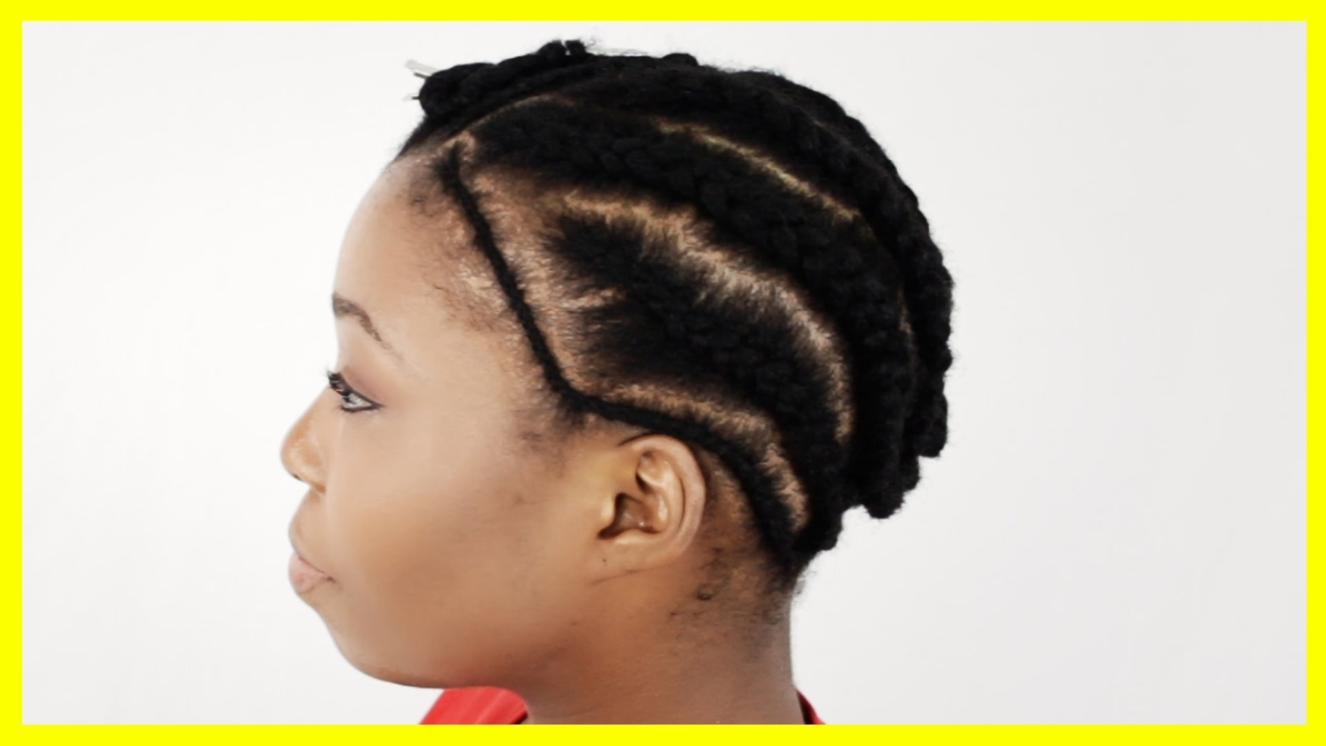 Sew In Braid Pattern Thinning My Hair! Bald Spot On My Crown – Youtube Throughout Most Up To Date Braided Hairstyles Without Edges (View 14 of 15)