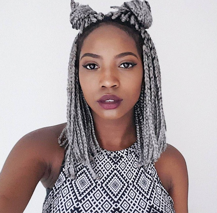 Short Braided Hairstyles Black Hair Archives – Hairstyles And (View 15 of 15)