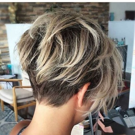 Short Hair Short Hair Cuts For Women Short Hair Styles Short Hair Within Favorite Undercut Blonde Pixie With Dark Roots (View 12 of 15)