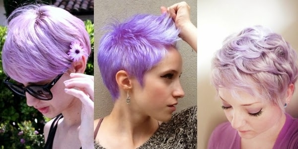 Short Hair Special: Lavender Pixie Haircuts! – The Haircut Web Regarding Well Liked Lavender Pixie Bob Haircuts (View 12 of 15)