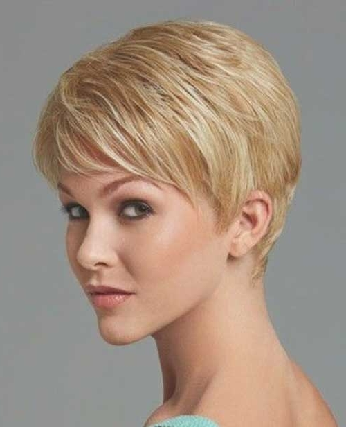 Short Hairstyles 2017 – 2018 Intended For Most Current Finely Chopped Pixie Haircuts For Thin Hair (View 4 of 15)