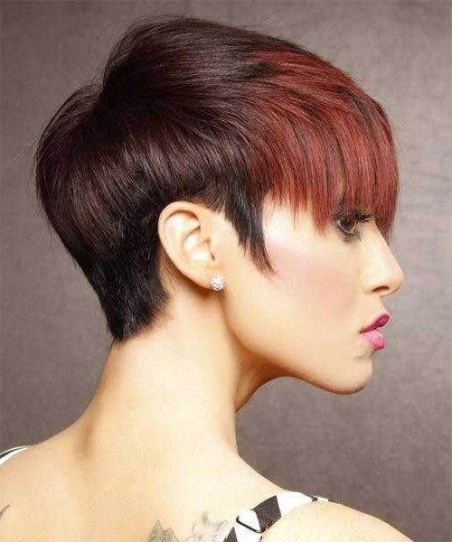 Short Hairstyles 2017 – 2018 With Best And Newest Two Tone Pixie Haircuts (View 13 of 15)