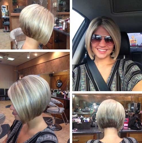 Short Hairstyles 2017 – 2018 Within Most Recent Stacked Pixie Haircuts With V Cut Nape (View 9 of 15)