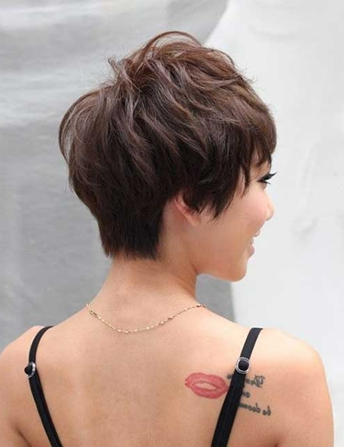 Short Hairstyles 2017 – 2018 Within Widely Used Pixie Wedge Haircuts (View 7 of 15)