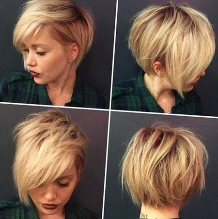 Short Hairstyles & Haircuts 2018 Within Trendy Pixie Bob Haircuts (View 14 of 15)