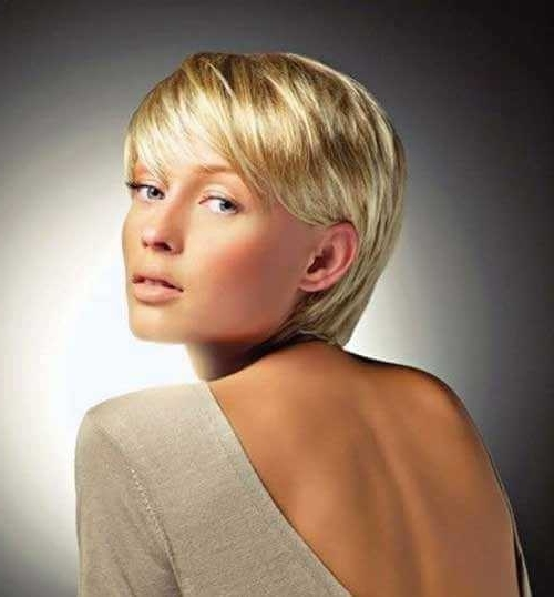 Short Pixie Haircuts For Fine Thin Hair – Short And Cuts Hairstyles Regarding Famous Finely Chopped Pixie Haircuts For Thin Hair (View 8 of 15)