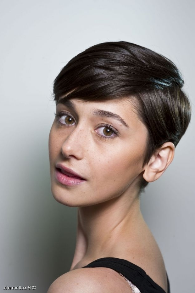 Side Parted Pixie Cut, Yes Or No? With Famous Choppy Side Parted Pixie Bob Haircuts (View 14 of 15)