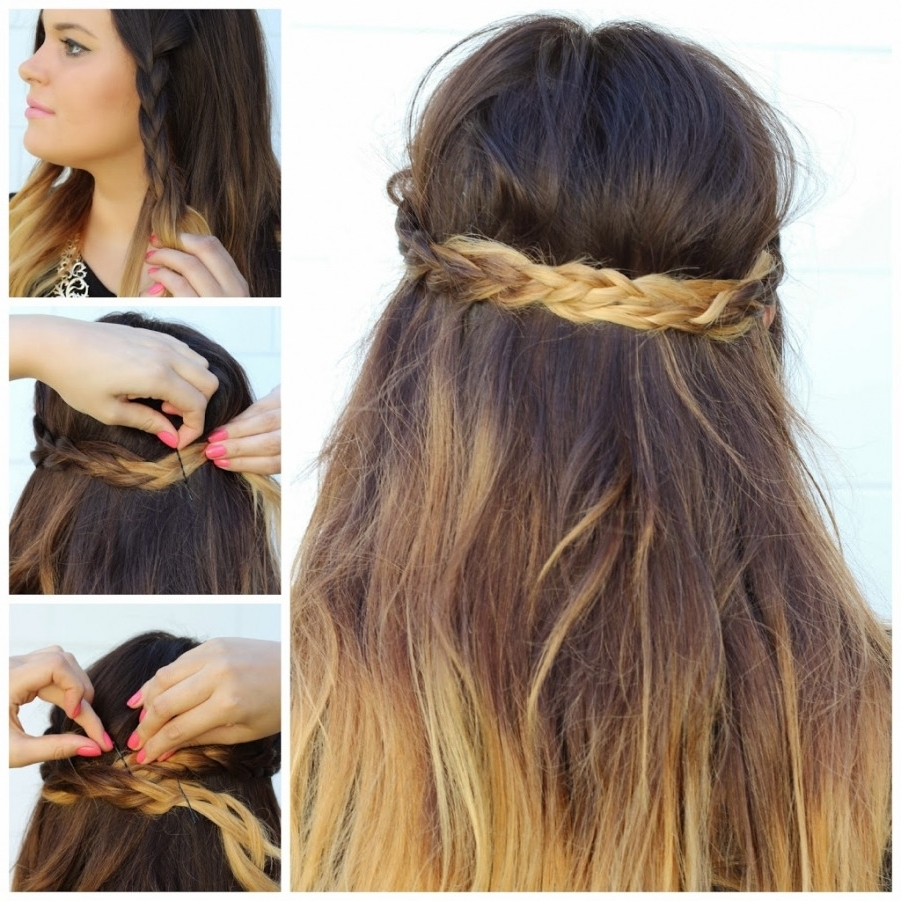 Simple Braided Hairstyles (View 11 of 15)