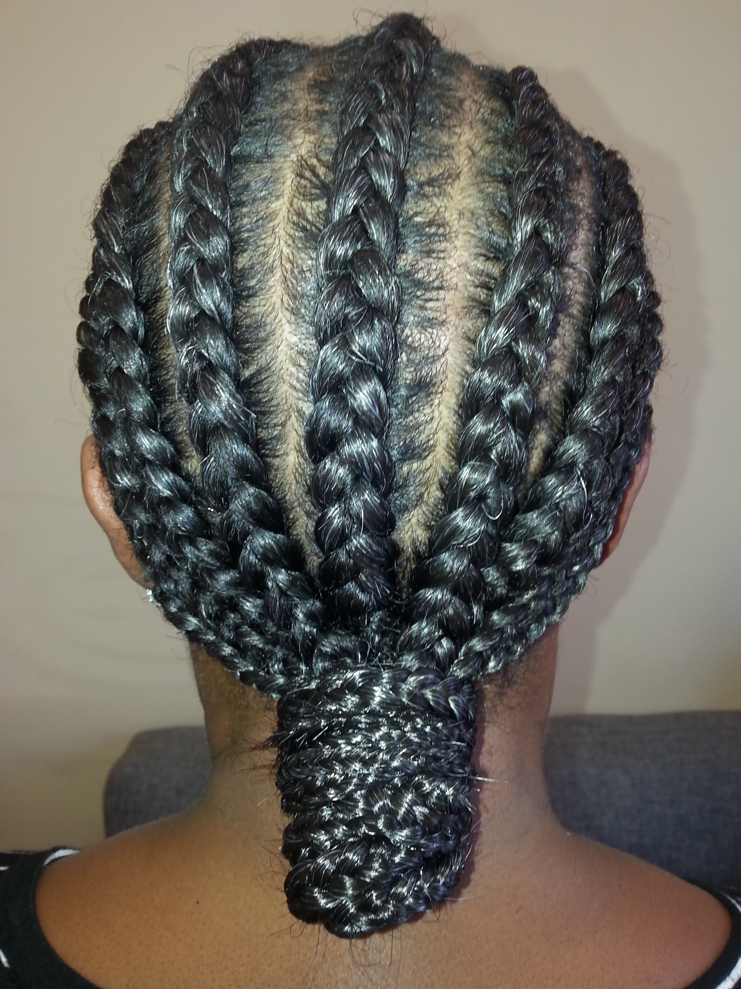 Simply Erinn's For Popular Cornrows Hairstyles Without Extensions (View 7 of 15)