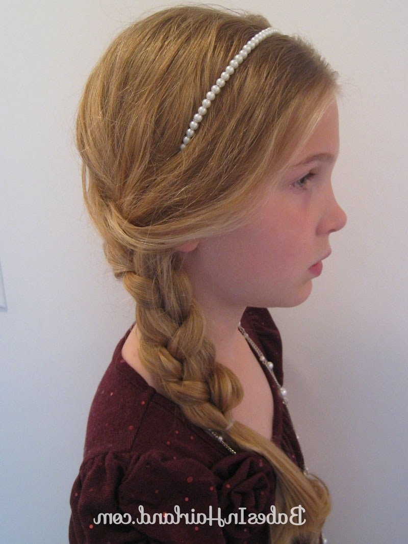 Slightly Messy & Loose Side Braid – Babes In Hairland In Newest Loose Side French Braid Hairstyles (View 7 of 15)