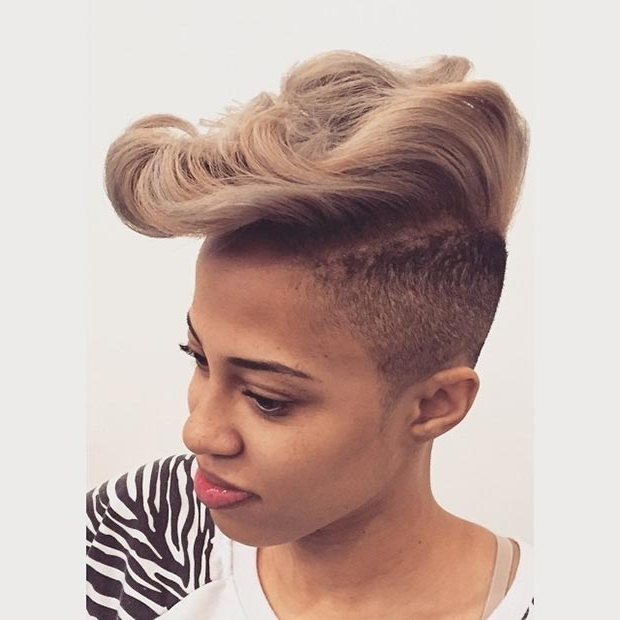 Stayglam Inside Newest African American Messy Ashy Pixie Haircuts (View 13 of 15)