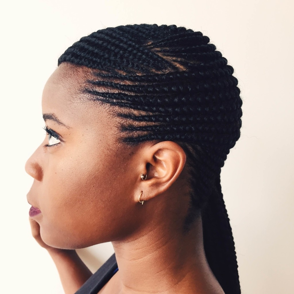 Straight Up Cornrows 2016 Hairstyle Of The Week Ghana Braids With Regard To Newest Straight Up Cornrows Hairstyles (View 13 of 15)