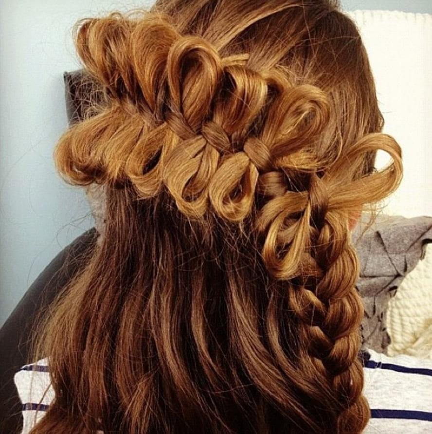 Stunning Bow Braid Hairstyles And How To Create Them For Most Popular Elegant Bow Braid Hairstyles (View 6 of 15)