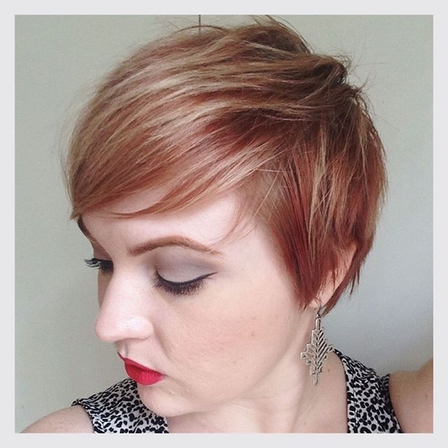 Styles Weekly Intended For Newest Rose Gold Pixie Haircuts (View 14 of 15)