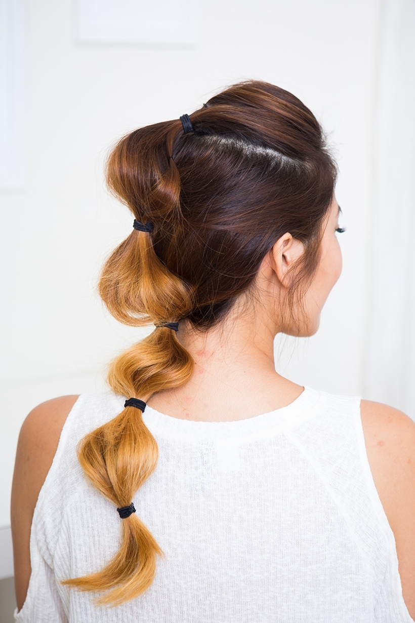 The Bubble Braid – Camille Styles With Preferred French Braid Hairstyles With Bubbles (View 13 of 15)