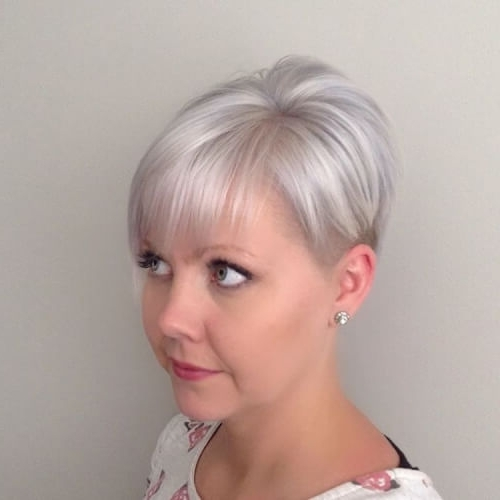 The Short Pixie Cut – 39 Great Haircuts You'll See For 2018 In Most Recently Released Stacked Pixie Haircuts With V Cut Nape (View 14 of 15)