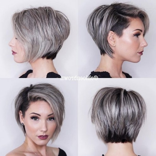 The Short Pixie Cut – 39 Great Haircuts You'll See For 2018 Pertaining To Famous Angled Pixie Bob Haircuts With Layers (View 10 of 15)