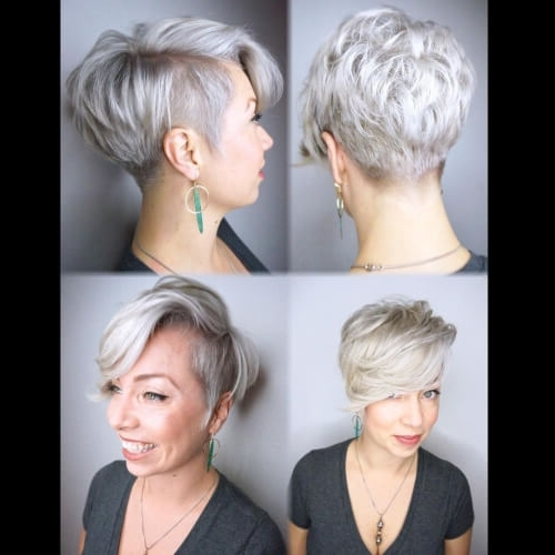 The Short Pixie Cut – 39 Great Haircuts You'll See For 2018 With Best And Newest Asymmetrical Long Pixie For Round Faces (View 14 of 15)