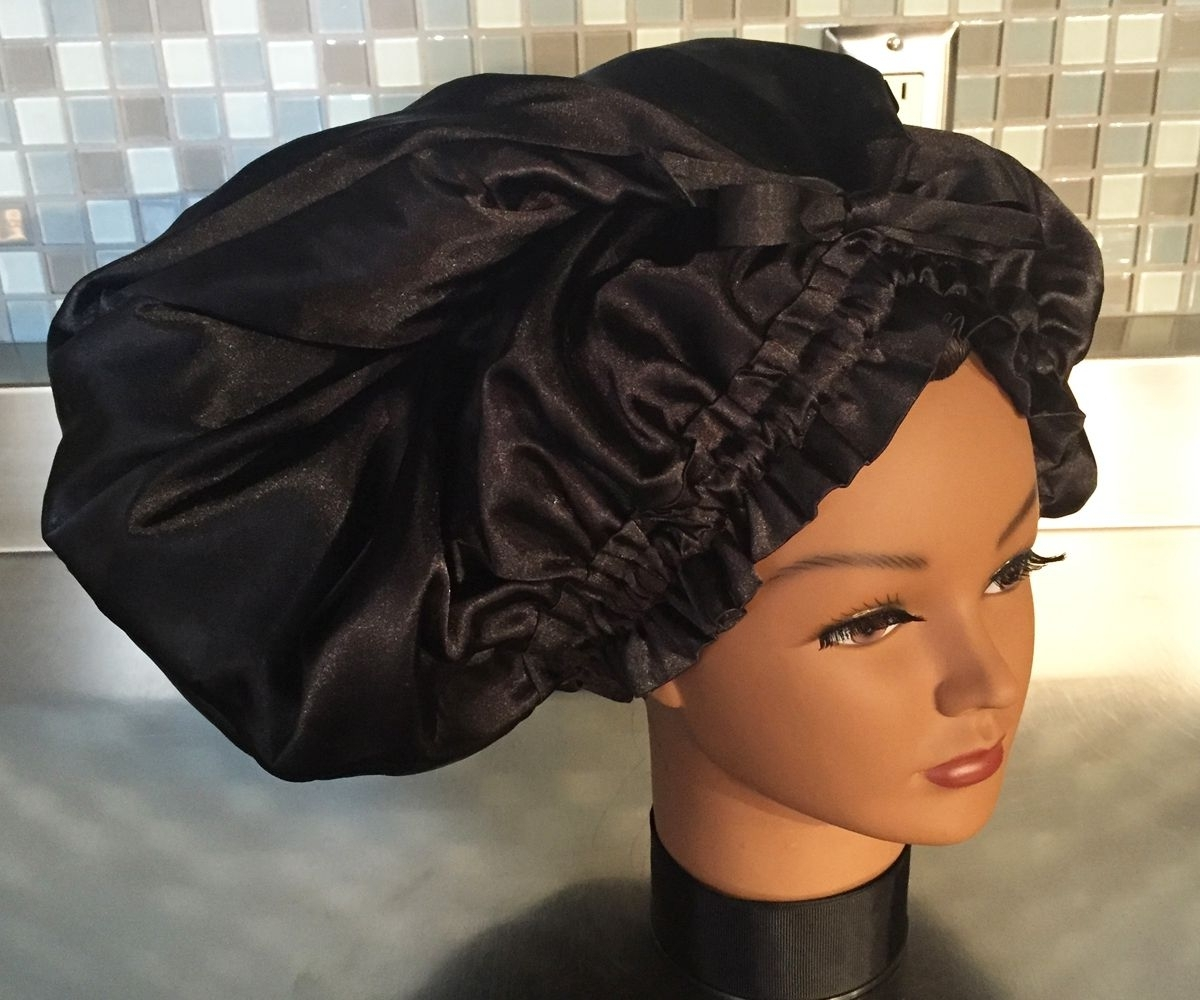 The Shower Cap With A Grommet For Box Braids, Dreadlocks, Extensions Within Current Minimalistic Fulani Braids With Geometric Crown (View 14 of 15)