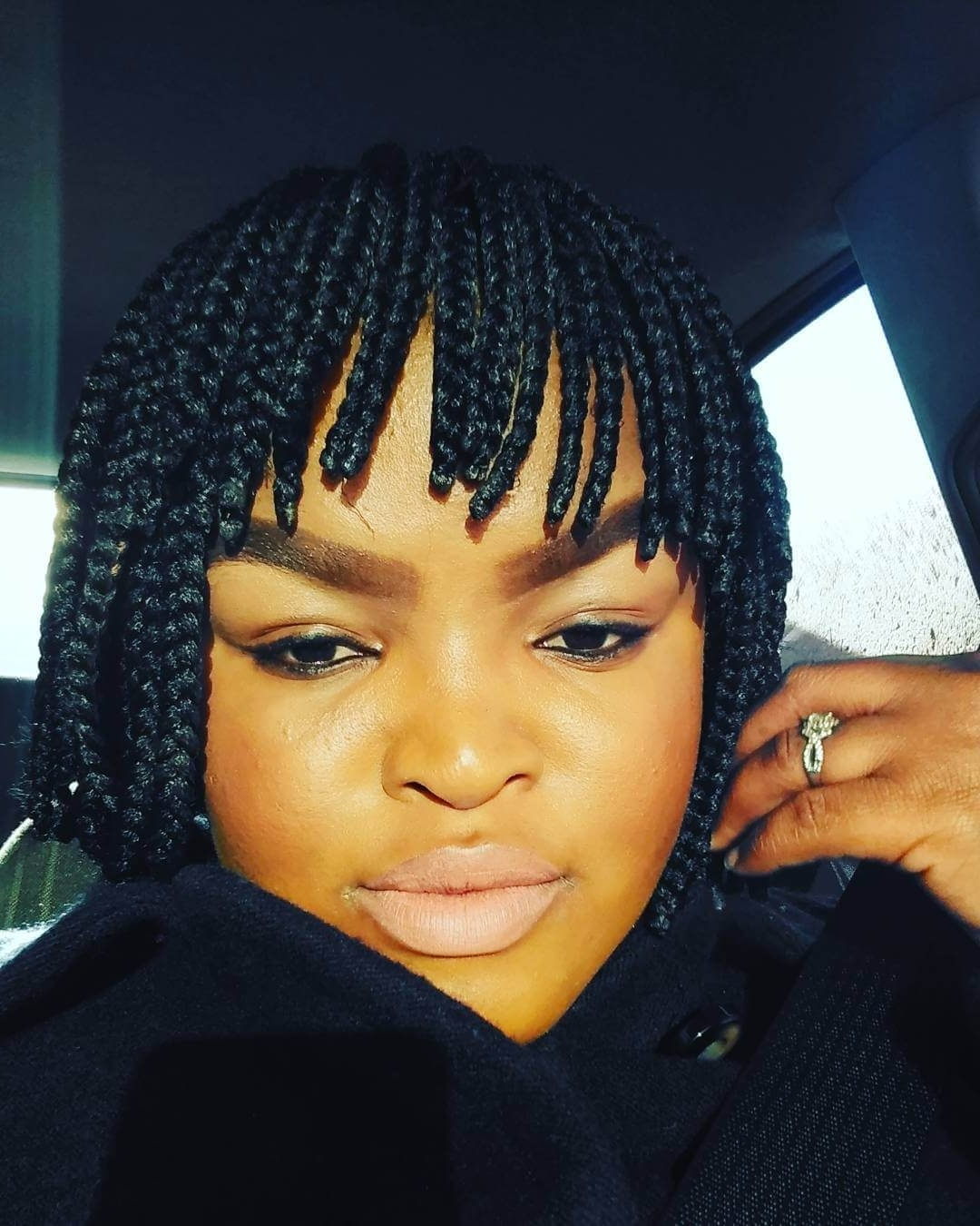 These 11 Cute Photos Of Braids With Bangs Will Convince You To Try Regarding Current Cornrows Hairstyles With Bangs (View 14 of 15)