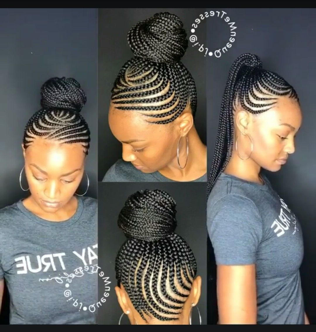 These 3 Cute Flat Twist Hairstyles Take Winning Prize – For Being With Widely Used Cornrow Hairstyles Up In One (View 13 of 15)