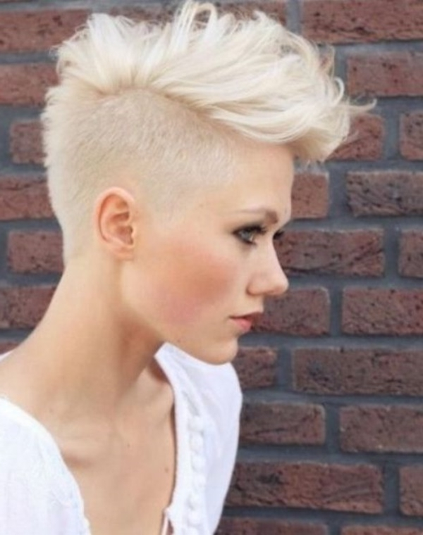 Trendy Bleach Blonde Pixie Haircuts Inside 78 Grey Hairstyles To Try For A Hot New Look (View 14 of 15)
