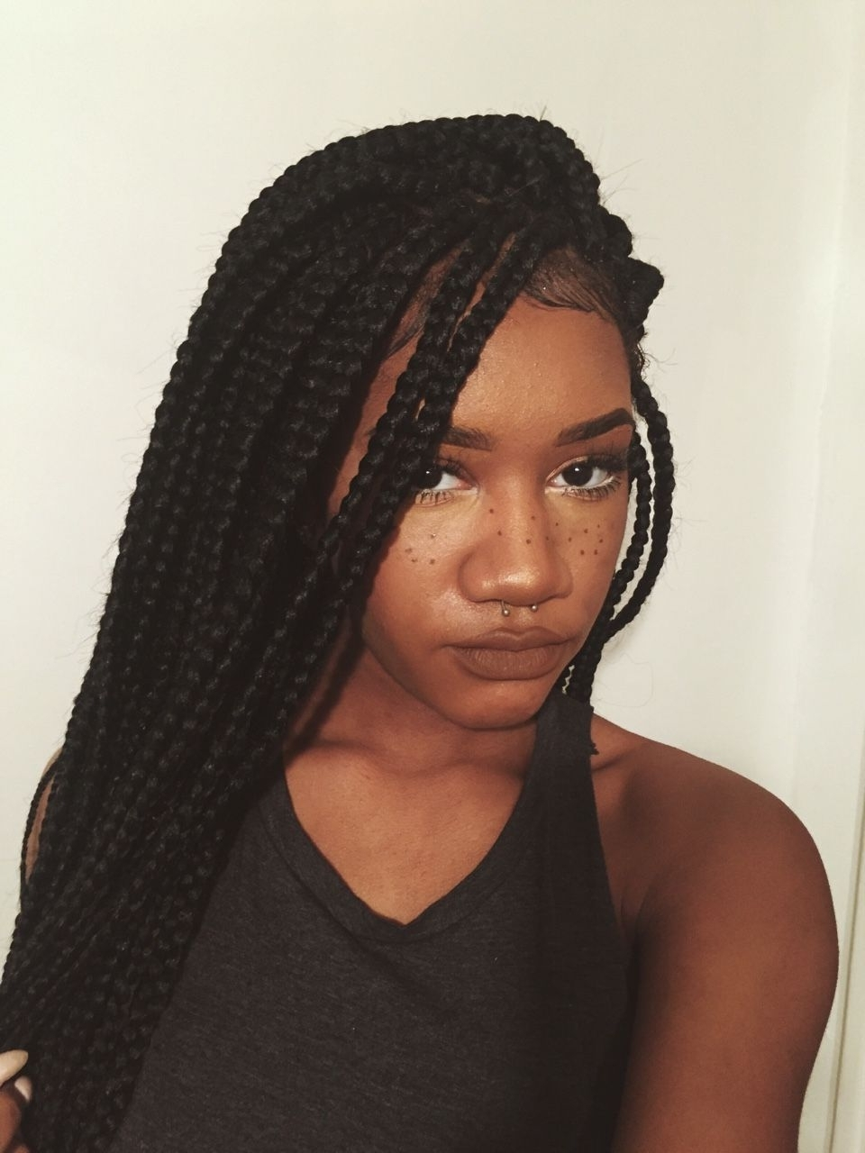 Trendy Braided Hairstyles Without Edges With Regard To Pro Tip: Leave Your Edges Out When Getting Your Hair Braided (View 15 of 15)