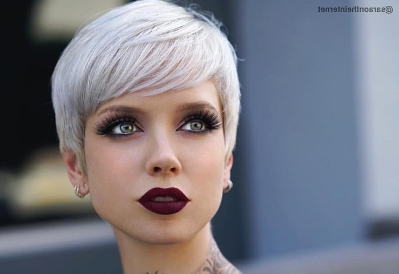 Trendy Choppy Asymmetrical Black Pixie Haircuts In The Short Pixie Cut – 39 Great Haircuts You'll See For (View 14 of 15)