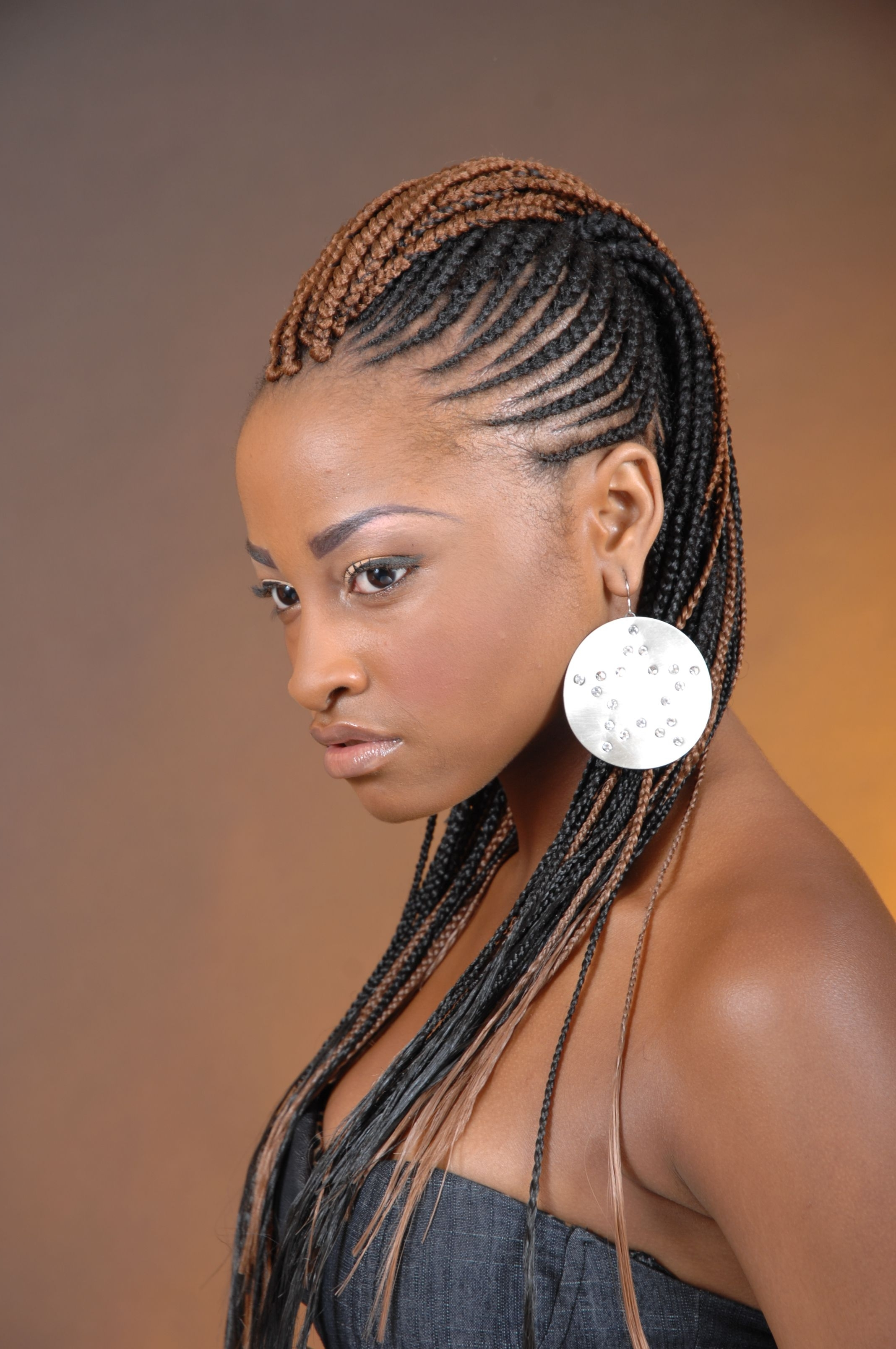Trendy Cornrows Hairstyles For Black Woman Regarding 20 Cool Black Hairstyles Braids Ideas (View 15 of 15)