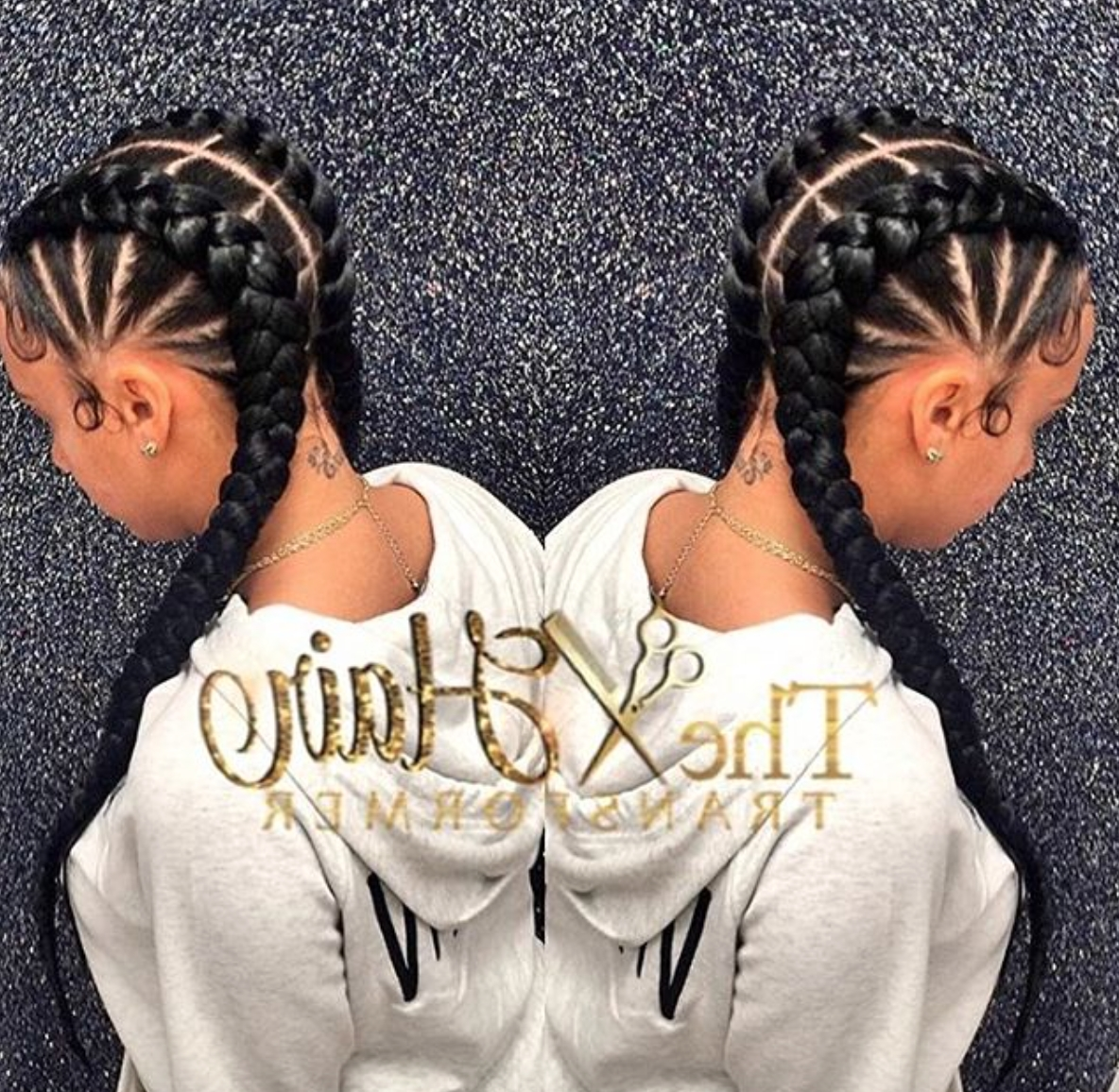 Trendy Cute Cornrows Hairstyles With Regard To Cute Cornrows Via @the Hairtransformer – Https (View 14 of 15)