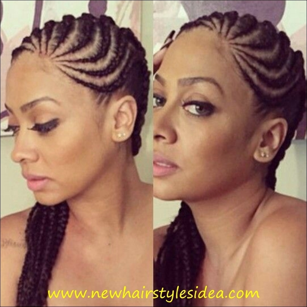 Trendy Medium Cornrows Hairstyles Intended For Best Cornrow Hairstyle – Popular Long Hairstyle Idea (View 14 of 15)