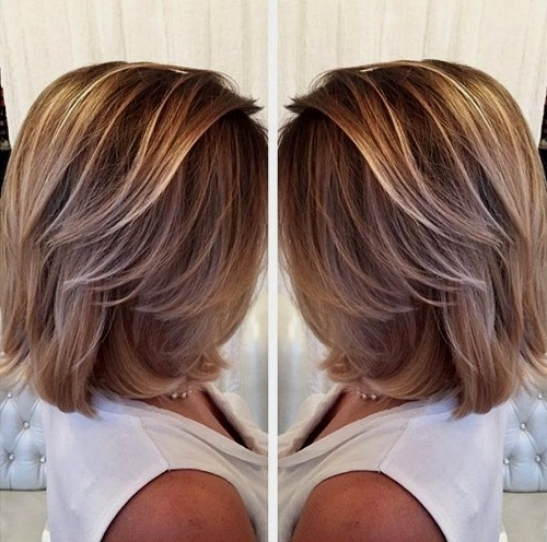 Trendy Shaggy Pixie Haircuts With Balayage Highlights Throughout 30 Best Balayage Hairstyles For Short Hair 2018 – Balayage Hair (View 15 of 15)