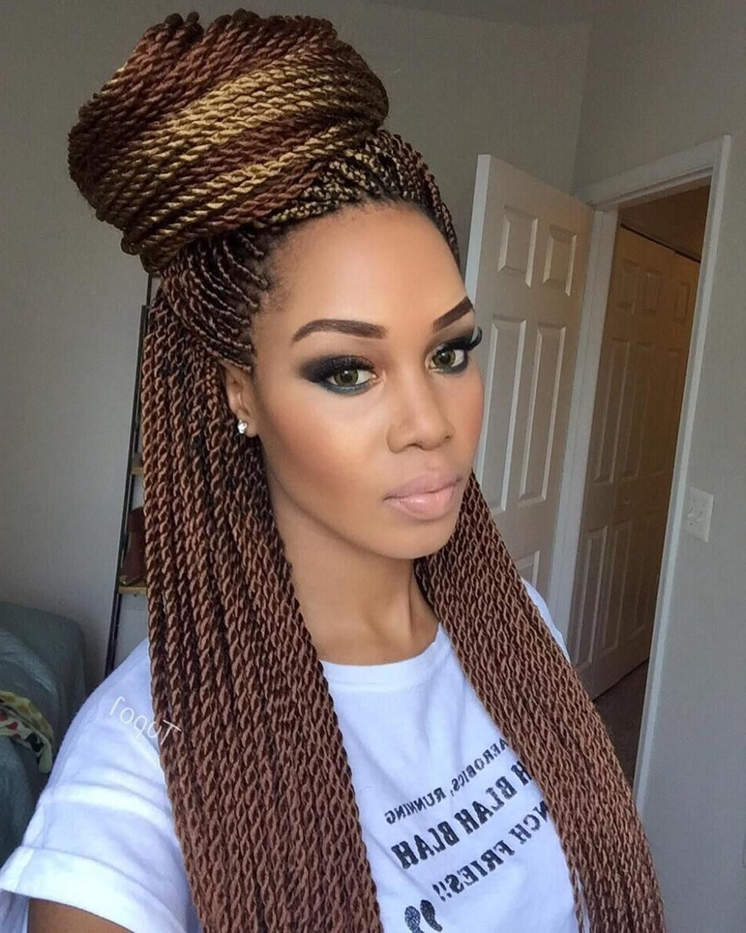 Twist Intended For Most Popular Thin Cornrows Hairstyles (View 15 of 15)