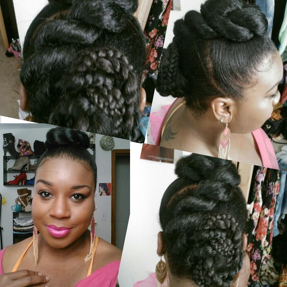 Twisted Double Bun – Youtube Within Recent Jumbo Double Twisted Updo (View 12 of 15)