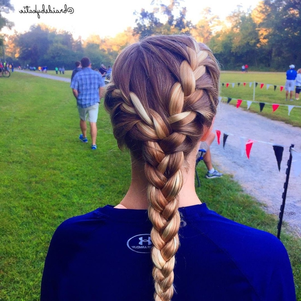 Two French Braids Into One – Basic French Within Famous Two Braids Into One (View 15 of 15)