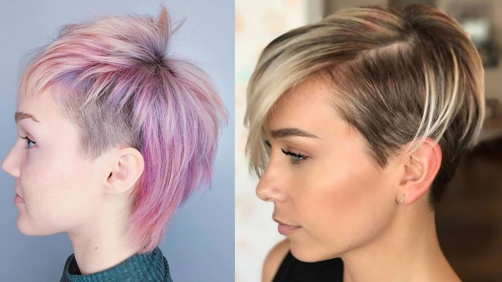 Undercut Pixie Hairstyles To Reflect Your Character – 2018 Short For Current Undercut Pixie (View 12 of 15)