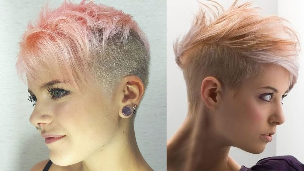 Undercut Pixie Hairstyles To Reflect Your Character For 2018 2019 Regarding Current Undercut Pixie (View 13 of 15)