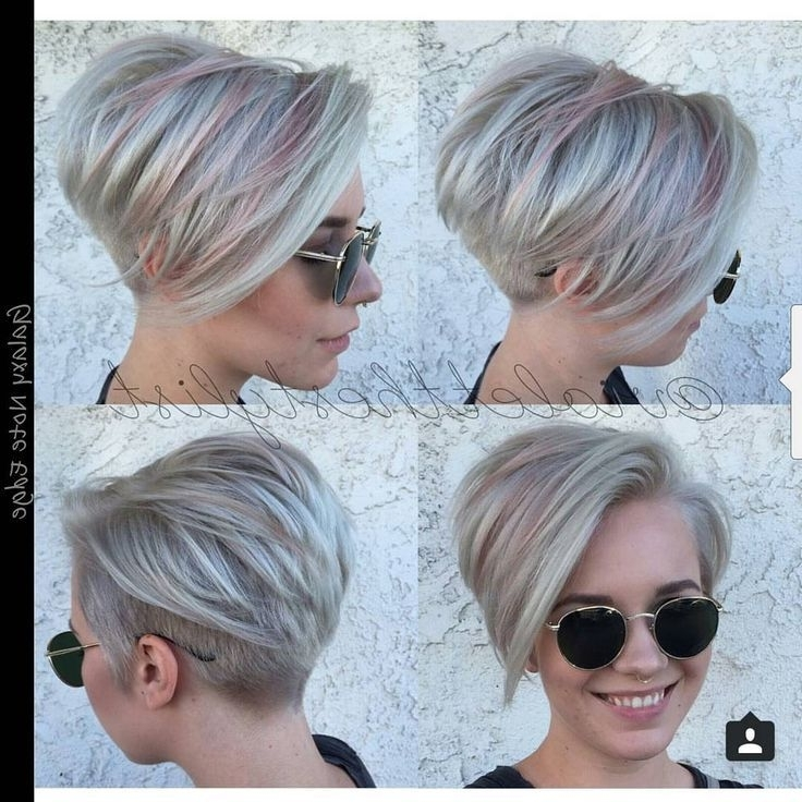 Undercut With Overlying Layers And Disconnected Crown – Google Pertaining To Widely Used Disconnected Blonde Balayage Pixie Haircuts (View 15 of 15)