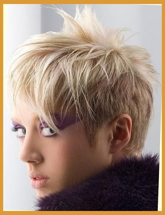 Unique Kitchen Design Pertaining To 2017 Rocker Pixie Haircuts (View 5 of 15)