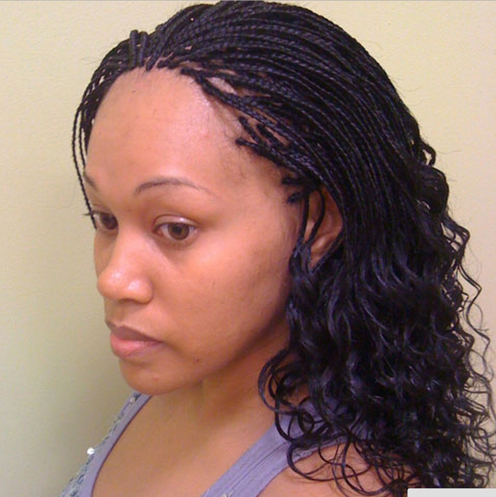 Unique Touchusing Micro Braids Hairstyles For Your Looks For Favorite Micro Cornrows Hairstyles (View 13 of 15)