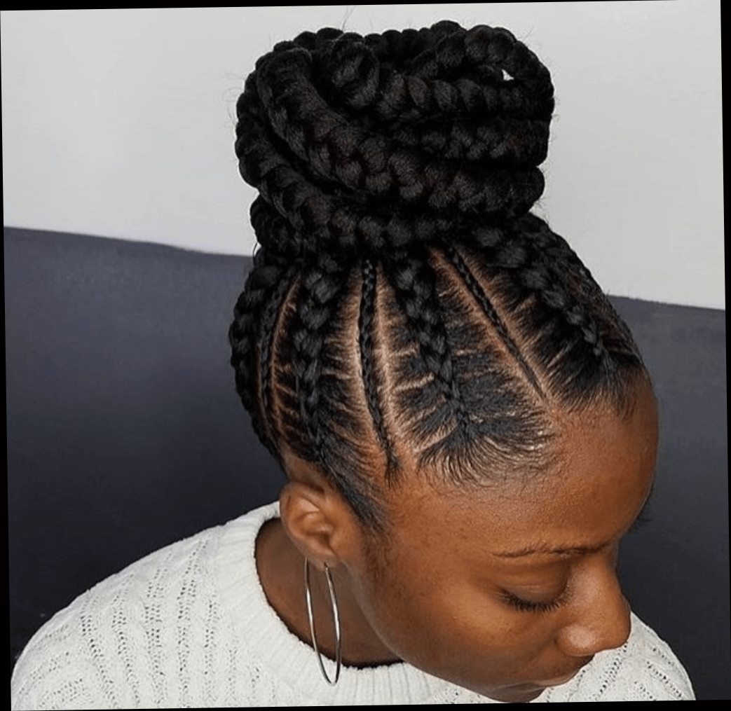Up Do Jumbo Cornrow Braids Are The New Hairstyle Sensation In Pertaining To Preferred Cornrows Hairstyles Going Up (View 14 of 15)