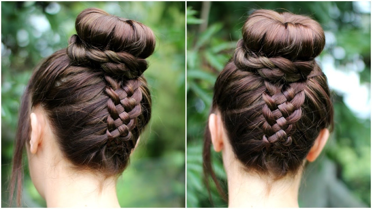Upside Down Braid Hair Tutorial (View 13 of 15)
