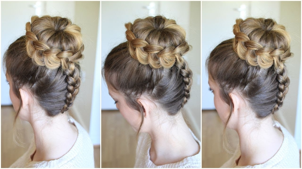 Upside Down Braided Lace Bun (View 15 of 15)