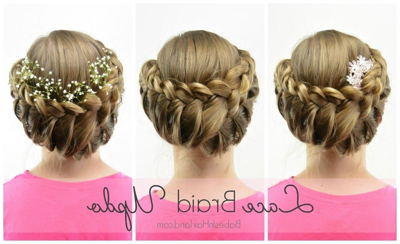 Wedding / Flowergirl Hairstyle (View 13 of 15)