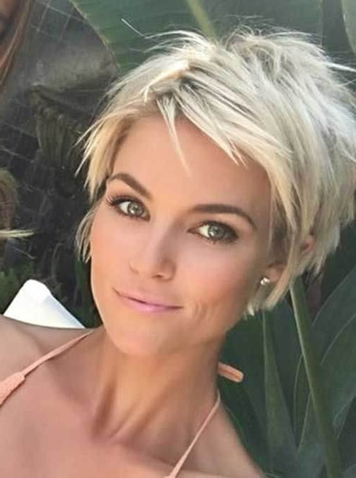 Well Known Bleach Blonde Pixie Haircuts For 50 Fresh Short Blonde Hair Ideas To Update Your Style In  (View 15 of 15)